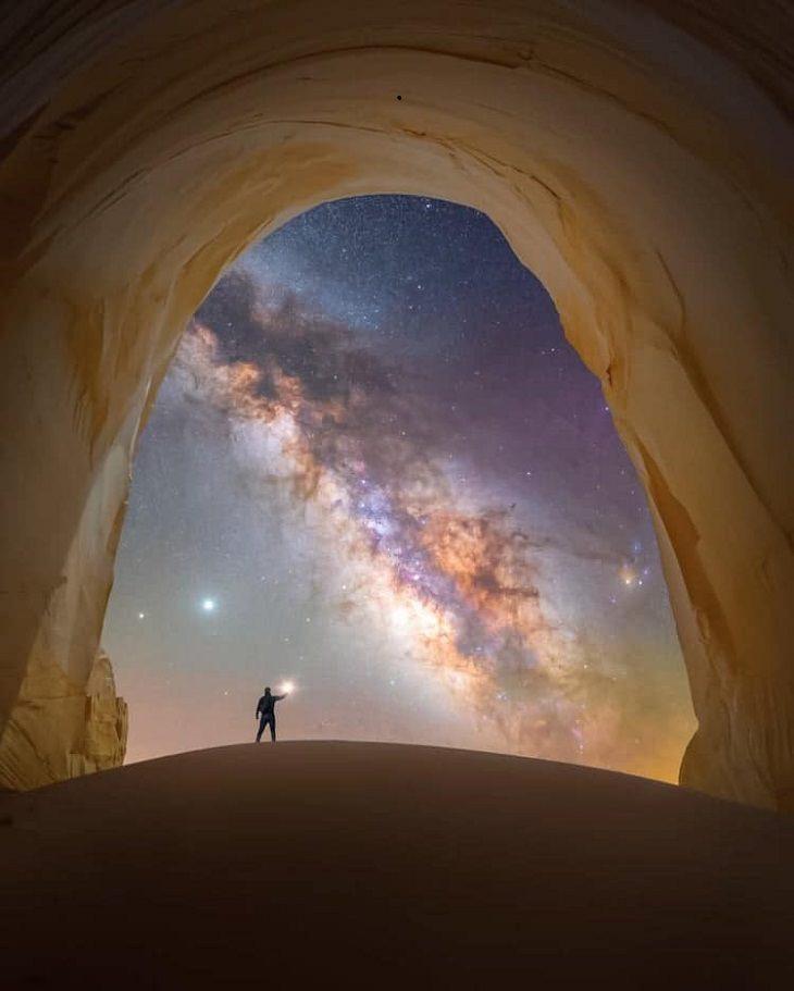 Milky Way Photographs, Utah, USA