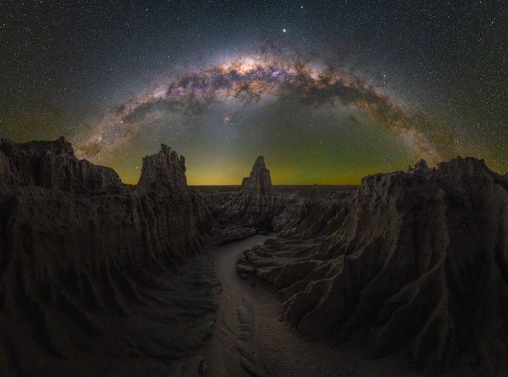 Milky Way Photographs, Mungo, NSW, Australia.