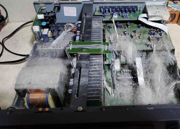 Tech Fails hair on electronics