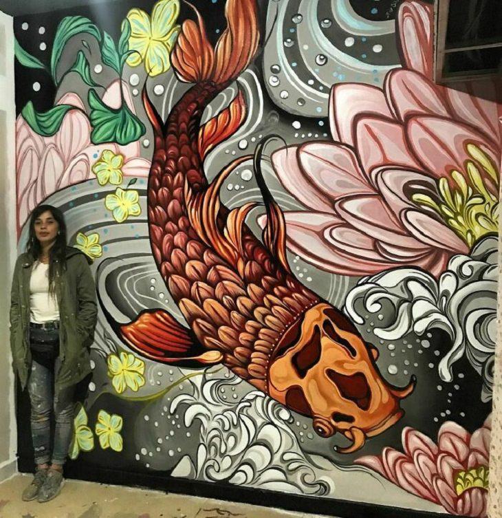 Murals of Wildlife, fish
