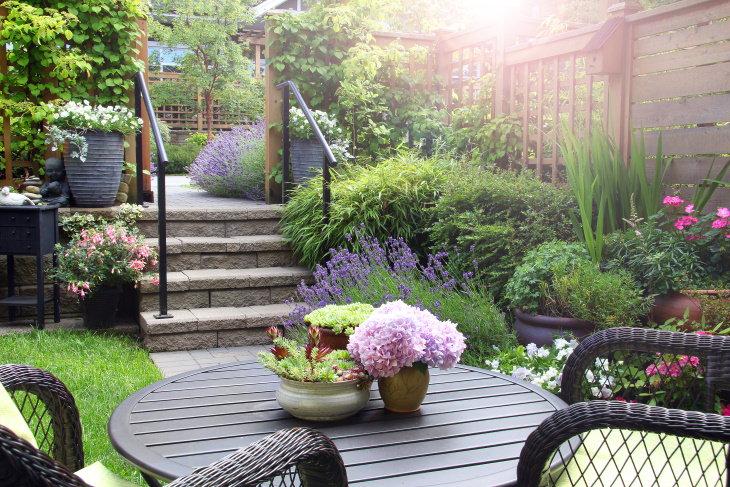 Container Gardening Tips pretty garden