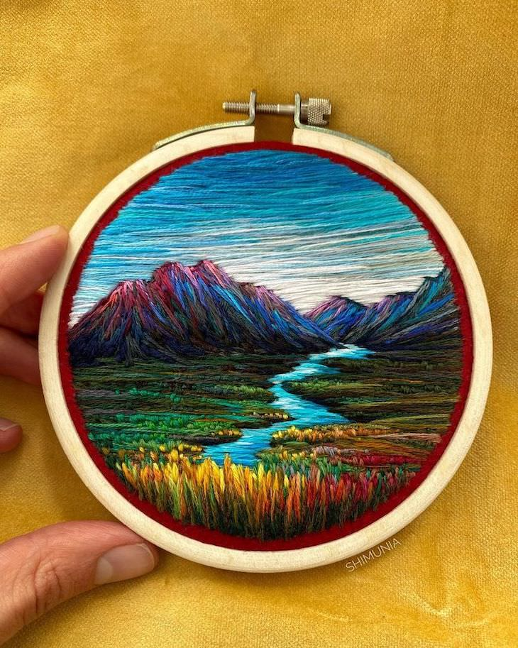 Dreamlike Embroidery Masterpieces by Vera Shimunia