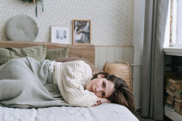 Obsolete English Terms woman in bed