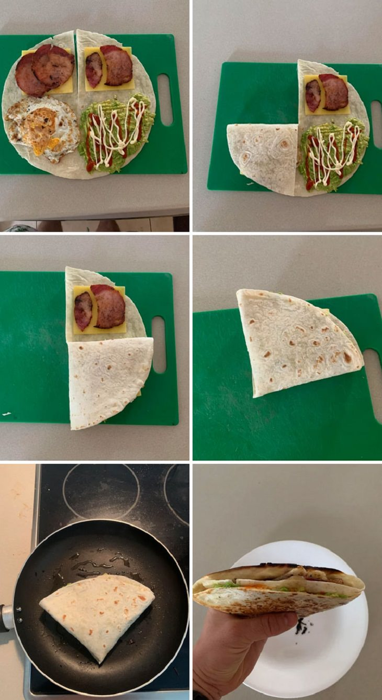 Food Hacks, wrapping hack