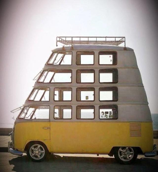 Wacky Cars Volkswagen van