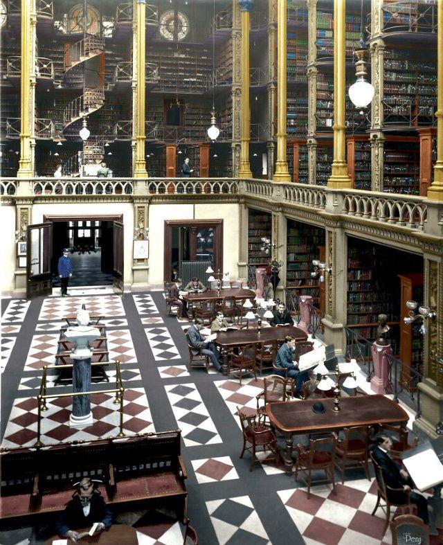 Architectural Masterpieces That No Longer Exist Cincinnati Public Library (1871-1955)