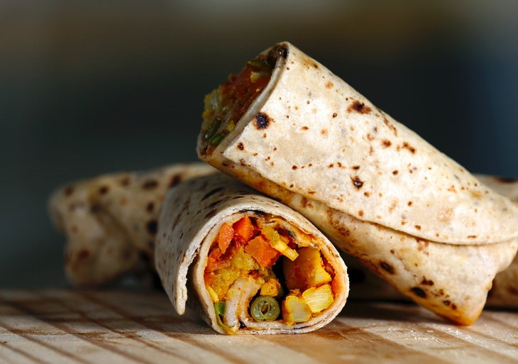 How to Make a Healthy Homemade Sandwich wrap