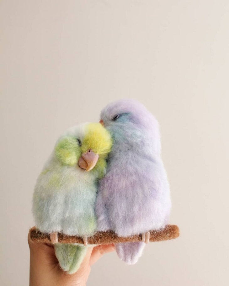 Hyper-Realistic Animal Portraits, birds