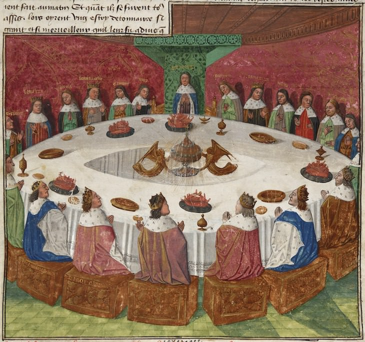 Famous Places And Objects Which Never Existed King Arthur's Round Table