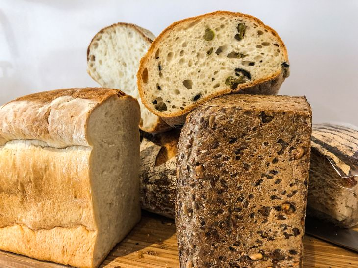 Bread and Weight Loss different types of bread