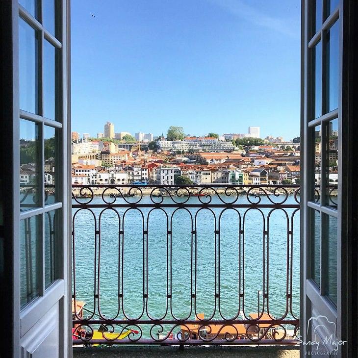 World Framed Through Doors and Windows, Porto, Portugal