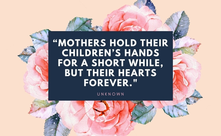 Mother's Day Quotes hands and hearts