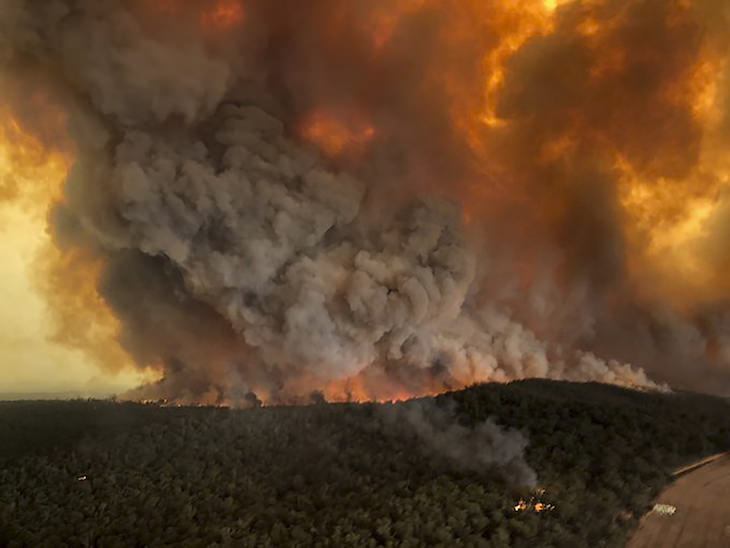 6 Powerful Natural Events That Broke Records Australian wildfires 2020