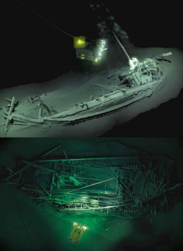 Poignant Photos oldest intact shipwreck in the world
