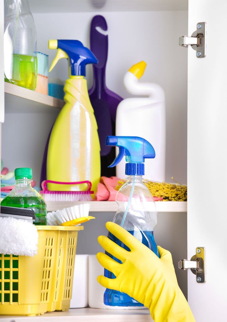 11 Practical Utility Closet Organizing Ideas open closet
