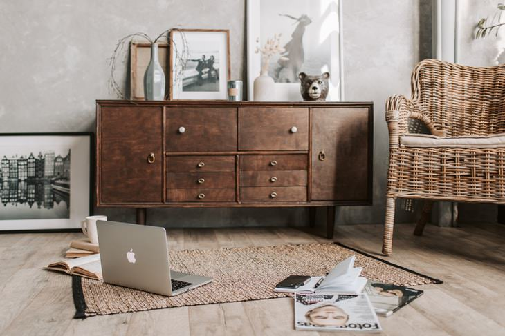 Used Furniture Buying Tips vintage cabinet