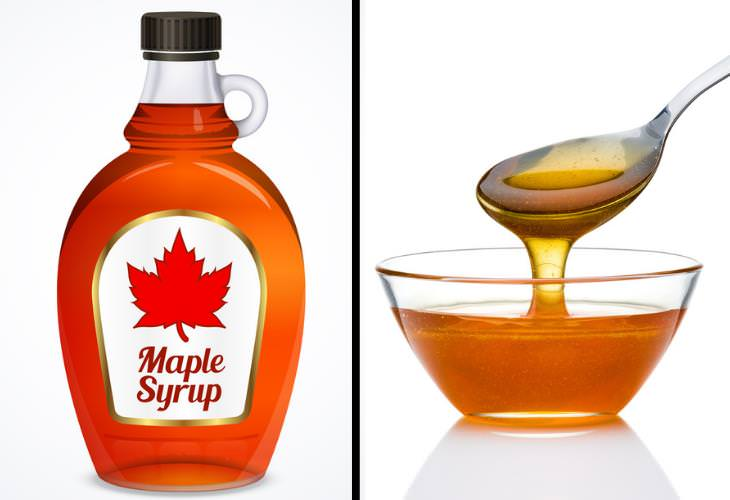 Honey vs. Maple Syrup,
