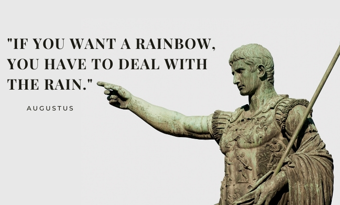 Quotes by Ancient Roman Emperors augustus