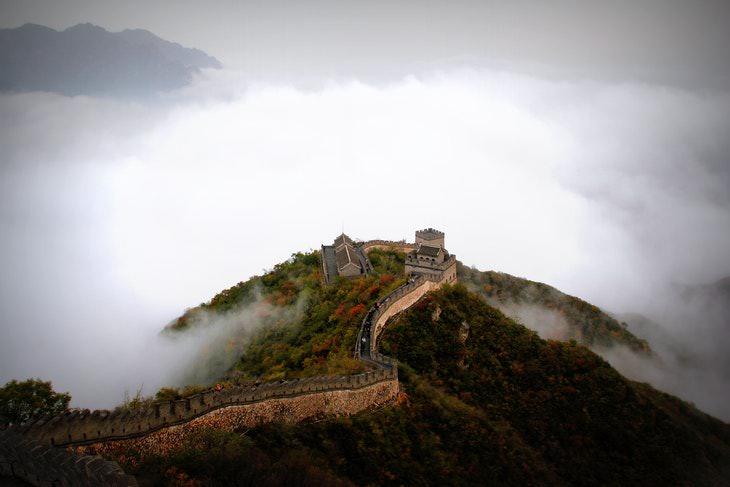 Historical Myths Great Wall of China