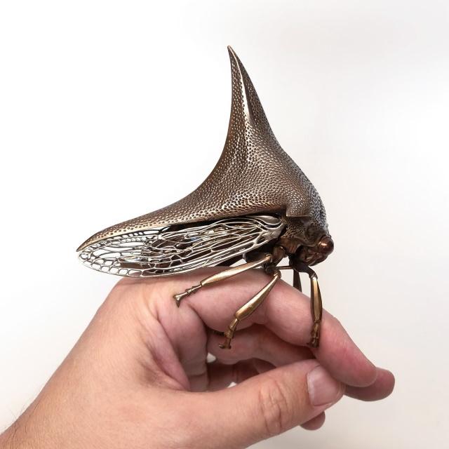 Metal Animals Sculptures by Dr. Allan Drummond Thorn