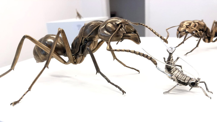 Metal Animals Sculptures by Dr. Allan Drummond Farm To Table
