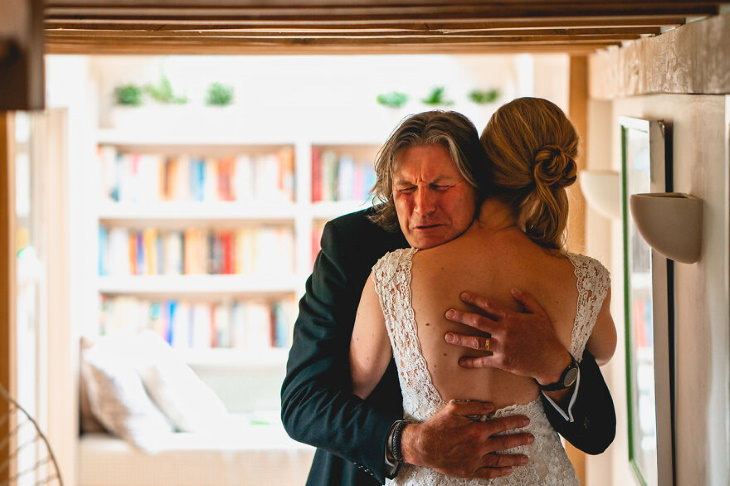 father-daughter bond at weddings