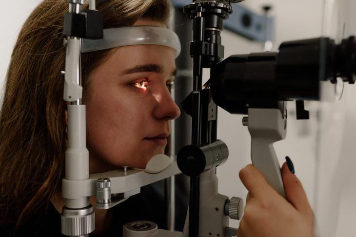 Pupil Size and Intelligence eye exam