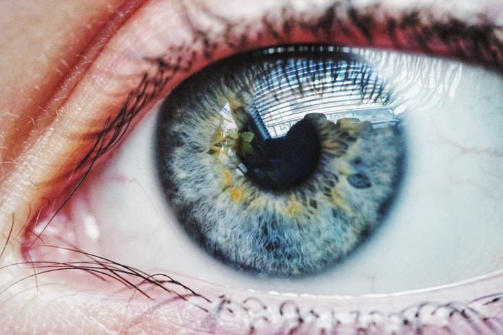 Pupil Size and Intelligence eye closeup