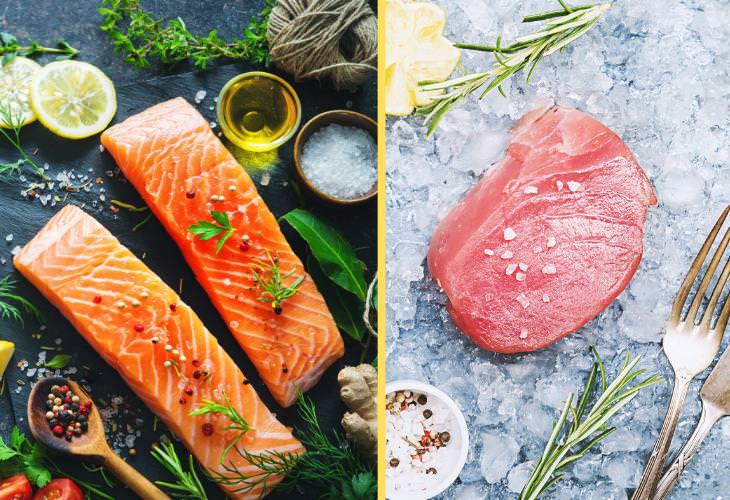 Salmon vs. Tuna, Nutrition Comparison