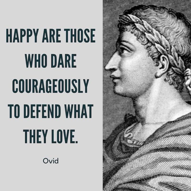 12 Timeless Quotes From the Roman Poet Ovid happiness