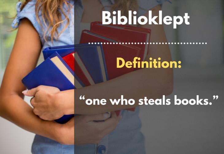 Uncommon Words, Biblioklept