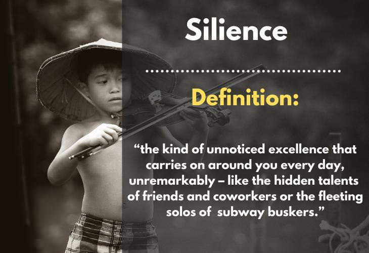 Uncommon Words, Silience
