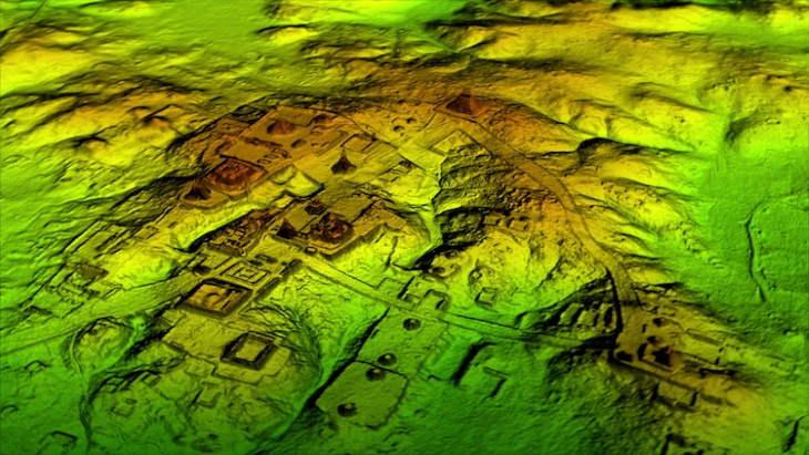The Ancient Maya Lidar