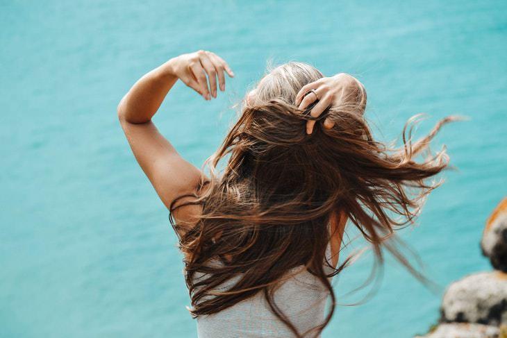 Hard Water hair