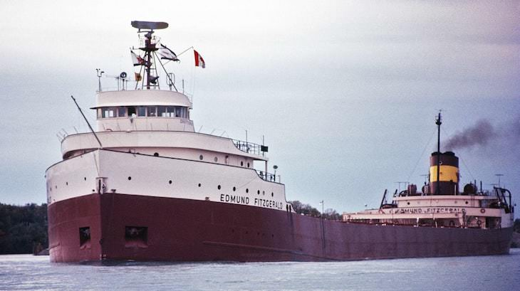 Historical Ships That Sank In the Great Lakes The SS Edmund Fitzgerald