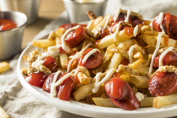 French Fries Around the World Salchipapas
