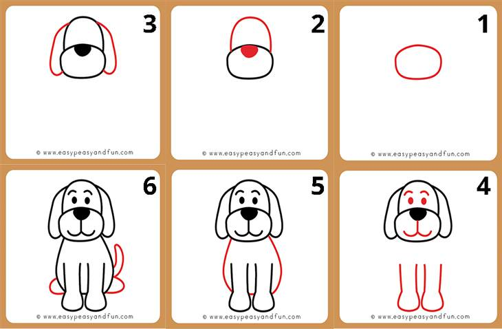Animal Drawing Tutorials for Kids and Beginners dog