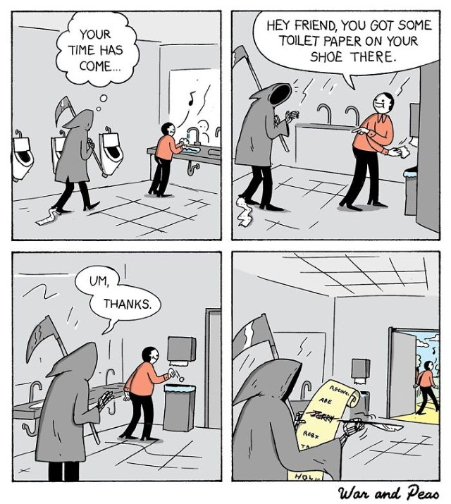 Comics by War and Peas