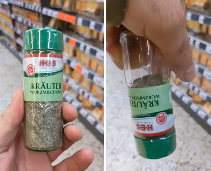 Misleading Food Packages spice bottle