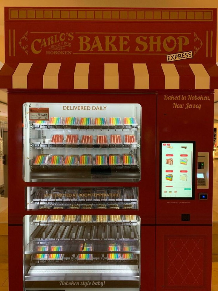 Vending Machines cake