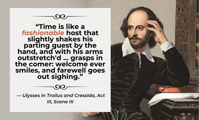 Words Coined by Shakespeare Fashionable