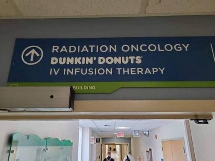 Funny Signs, donuts