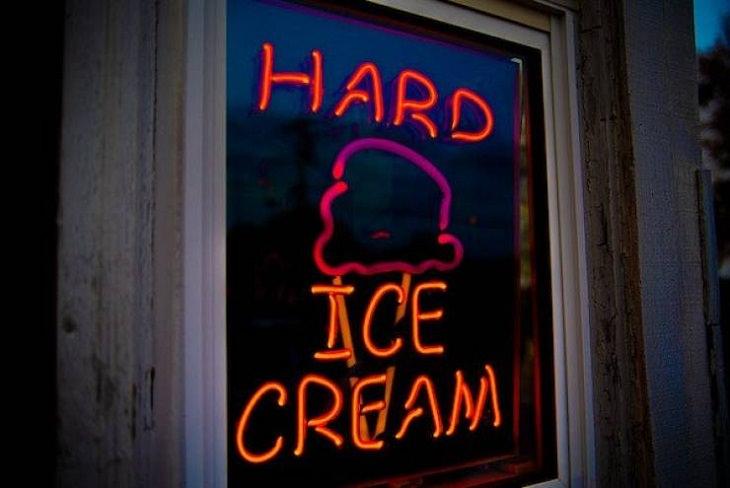 Funny Signs,  ice cream