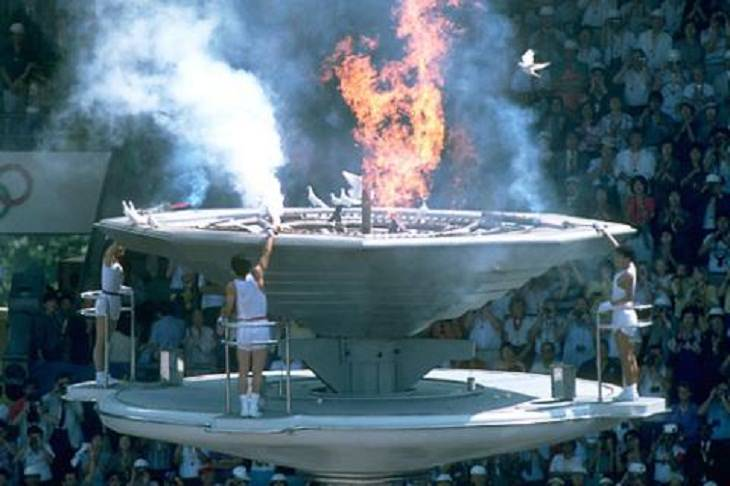 Unusual Olympic Moments, 1988 Seoul roast of the doves
