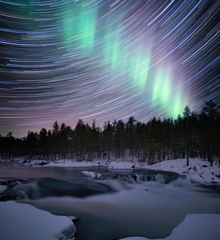 Astronomy Photographer of the Year Finalists Waterfallby Anna Dobrovolskaya-Mints