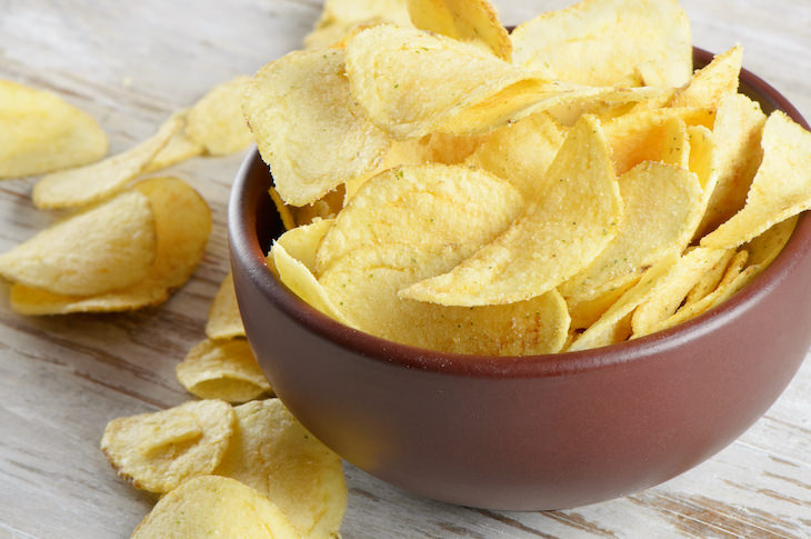 Food Ingredients That Are Banned Outside the US Olestra potato chips