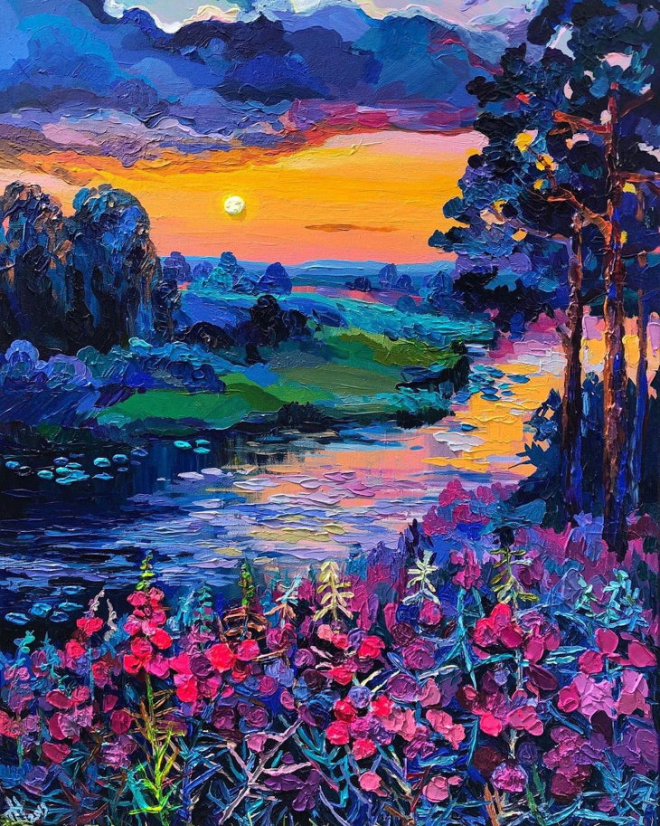 Paintings of European Countryside
