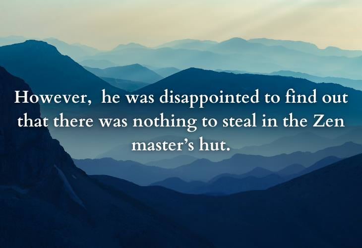 Thought-Provoking Zen Parables, mountain