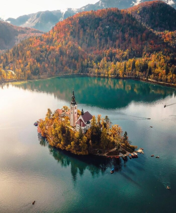 Gorgeous Places on Our Planet Lake Bled, Slovenia