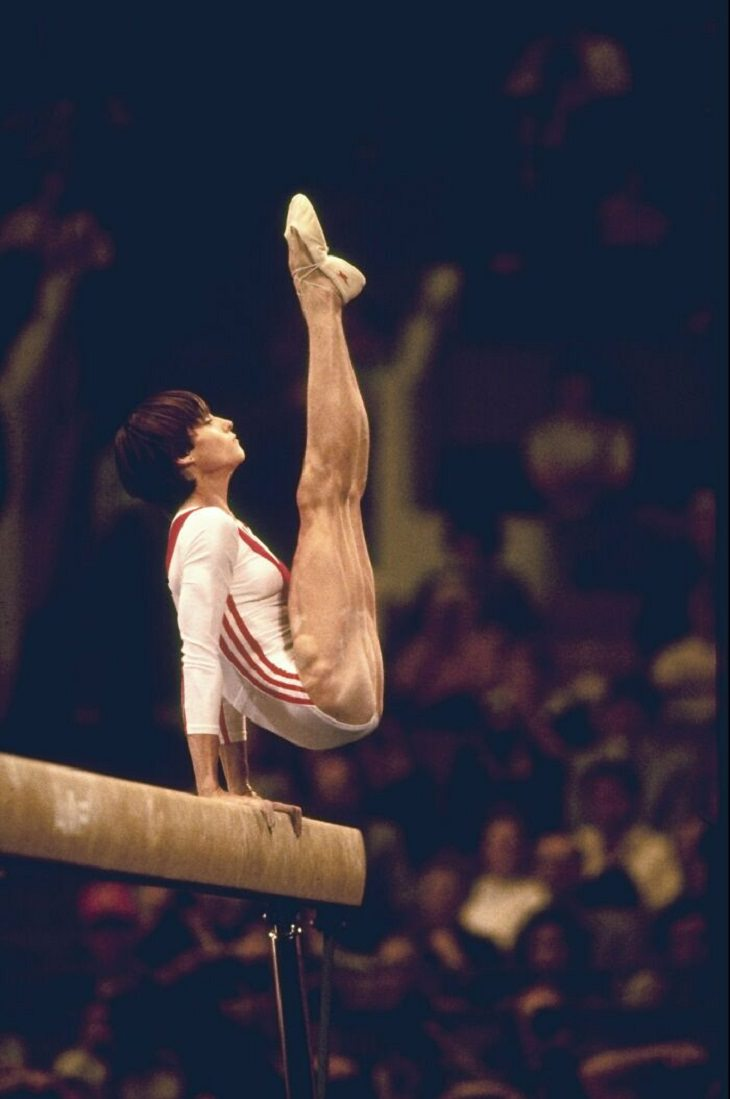 Surreal Pictures of Olympians, Nadia Comaneci